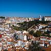 north Lisbon from Castelo de S Jorge