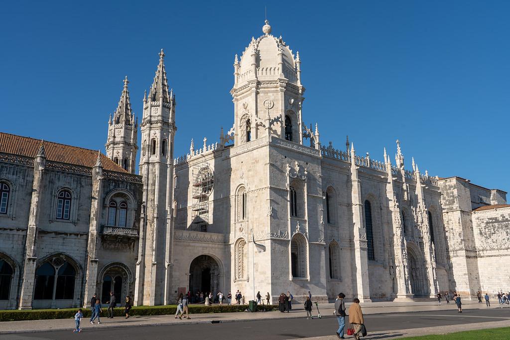 Jerónimos Monastery in Belem