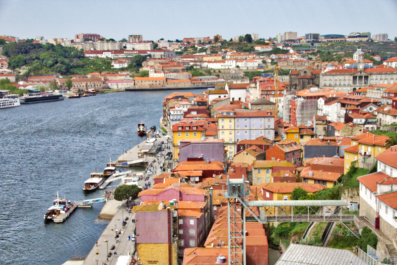 The River Front Along the Duoro in Porto, Portugal (©simon@myeclecticimages.com)