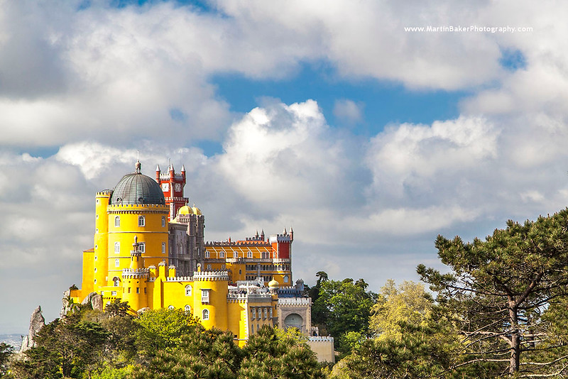 Pena Palace, Sintra, Lisbon, Portugal.