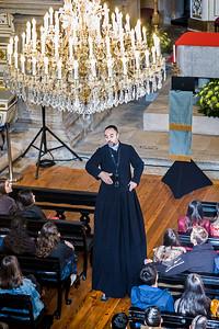 priest on stilts 2 Ingreja da Misericordia