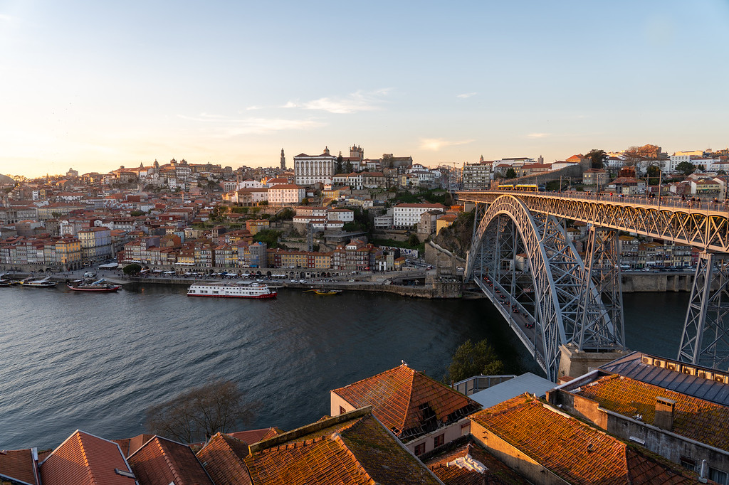Dom Luís I Bridge in Porto