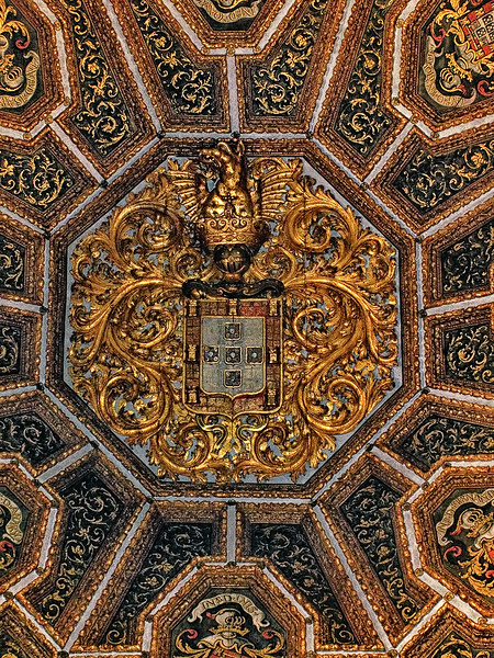 Ceiling - Sintra National Palace