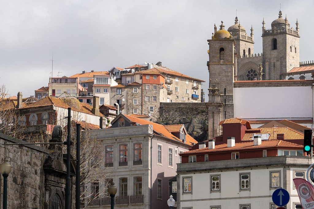 Buildings in Porto, Portugal