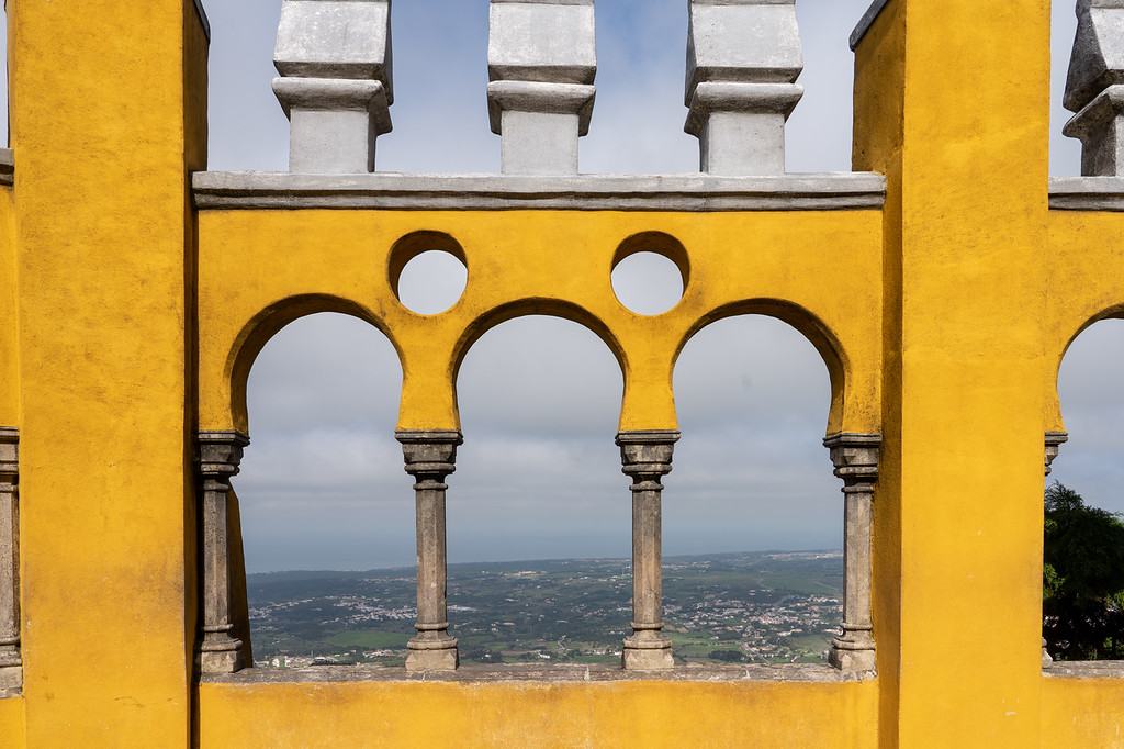 Arches at Pena Palace
