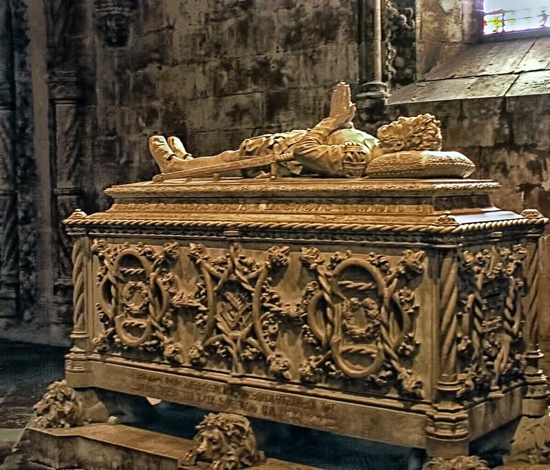 Tomb of Luís de Camões - Jeronimos Monastery - Lisbon