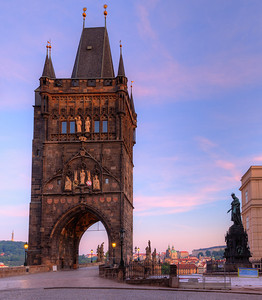 Bridge Tower, at the east end of Charles Bridge