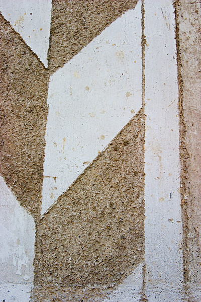 <center>Scraffito   <br><br>Durnstein, Austria   <br><br>This is a closeup of some scraffito on one of the buildings in Durnstein. You can see how the design is scraped into the stucco.    </center>