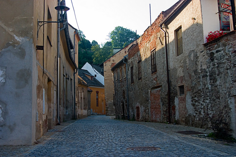 <center>State of Decay   <br><br>Cesky Krumlov, Czech Republic   <br><br>This section of Cesky Krumlov has definitely seen better days.    </center>