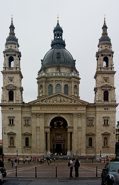 <center>St. Stephen's Basilica   <br><br>Budapest, Hungary   <br><br>This is the Basilica of St. Stephen and contains the incorruptable remains of St. Stephen.    </center>