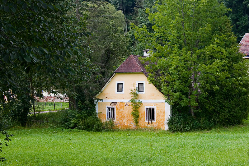<center>Rural House   <br><br>Zwettl, Austria   <br><br>This little house was nestled in the woods outside the abbey.    </center>
