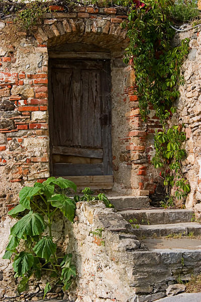 <center>Old Wooden Door   <br><br>Durnstein, Austria   <br><br>This wooden door looks centuries old.    </center>