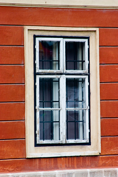 <center>Old Style Window Panes   <br><br>Budapest, Hungary   <br><br>These window panes remind me of my grandmother's house from the early 1960s.    </center>