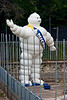 <center>Michelin Man   <br><br>Budapest, Hungary   <br><br>Actually, it reminds me of the Sta-puff Marshmellow Man of Ghostbuster's fame.    </center>