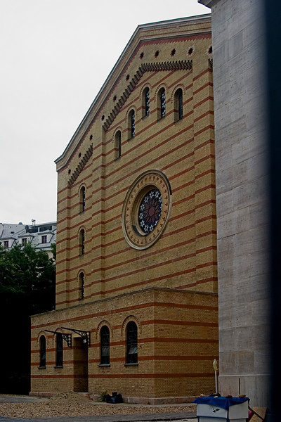 <center>Orthodox Synagogue   <br><br>Budapest, Hungary   <br><br>This Orthodox synagogue was in use at the time of the Holocaust.    </center>