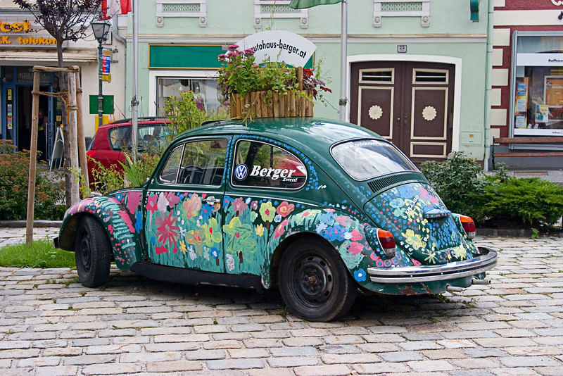 <center>Love Bug   <br><br>Zwettl, Austria   <br><br>Well, I don't think I've seen one of these since 1972.    </center>