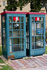 <center>Phone Booths   <br><br>Eisenstadt, Austria   <br><br>These phone booths are vintage old Europe.    </center>