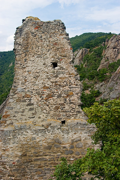 <center>Crumbling Walls   <br><br>Durnstein, Austria   <br><br>While t's no longer possible to rebuild the castle, the government has managed to preserve it in the state it was in after the 30-year war.    </center>