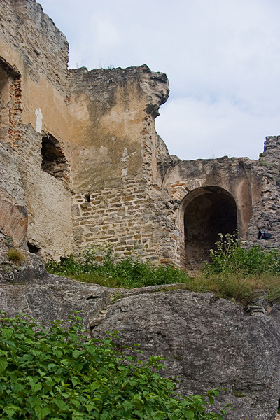 <center>Preserved Arches   <br><br>Durnstein, Austria   <br><br>This section gives a pretty good glimpse of how the castle once appeared.    </center>