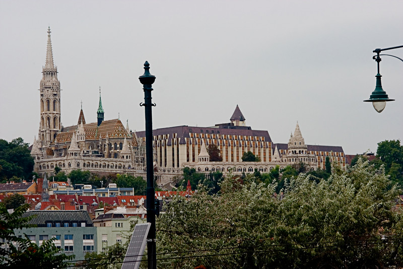 <center>Ornate Architecture   <br><br>Budapest, Hungary   <br><br>This was one of the more ornate buildings we saw Budapest.    </center>