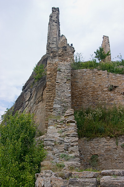 <center>Outer Wall   <br><br>Durnstein, Austria   <br><br>This is the outer wall of the castle.    </center>