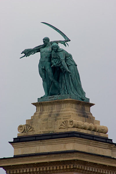 <center>Work   <br><br>Budapest, Hungary   <br><br>This statue represents work and prosperity.    </center>