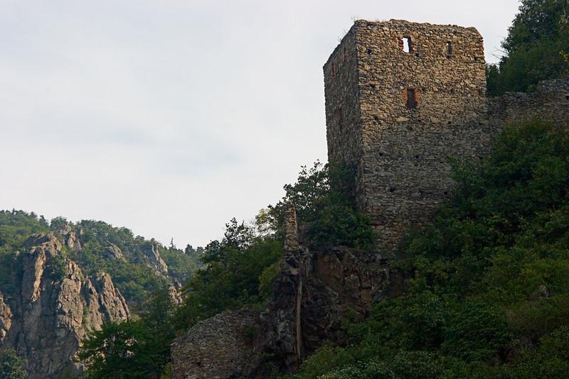 <center>Watch Tower   <br><br>Durnstein, Austria   <br><br>The remains of the 11th century watch tower still overlook the city of Durnstein.    </center>