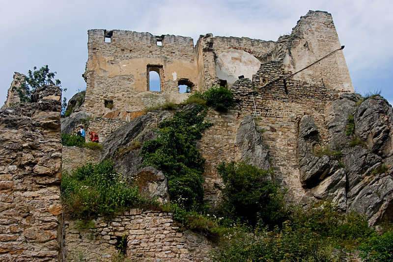 <center>12th Century Castle   <br><br>Durnstein, Austria   <br><br>The castle itself dates back to the 12th century.    </center>
