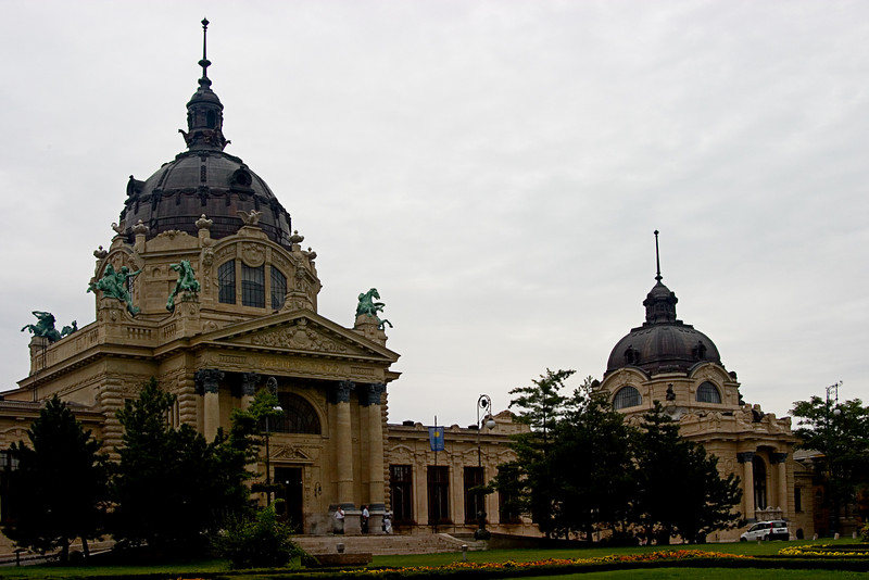 <center>Castle   <br><br>Budapest, Hungary   <br><br>Here's the castle behind the statue of Anonymus.    </center>
