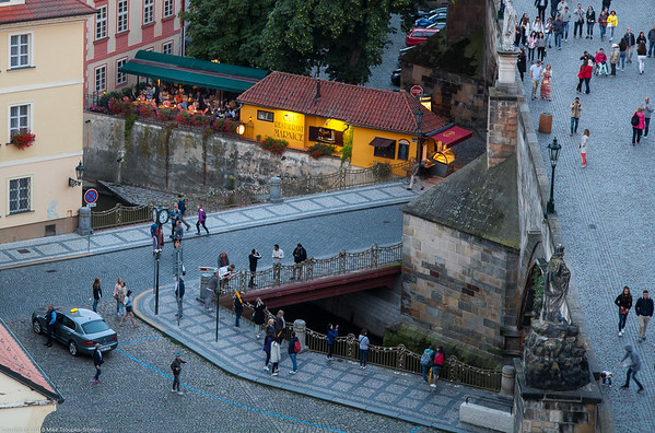 Prague - a view from Karlův Most