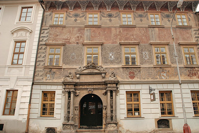 Kutná Hora - Rue Sultysova - Maison Renaissance