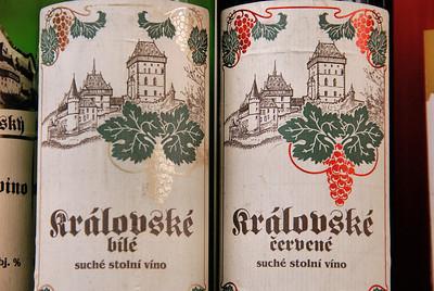 Les vins de Karlštejn