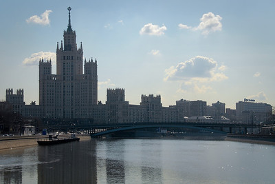 "Moscow...one of Stalin's ""Seven Sisters""..."