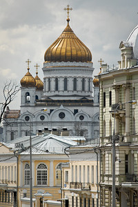 Cathedral of Christ the Savior from a distance...