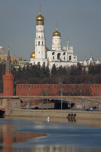 First glimpse of the Kremlin...