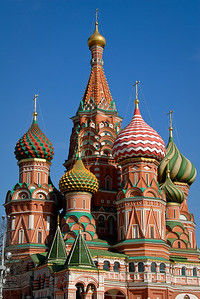 St. Basil's Cathedral...Red Square...