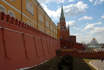 The Kremlin Wall...