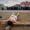EU 323 - Belarus, Good Friday in the parish of St. Sigismund in Baranavichy