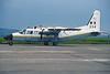 "254 Britten-Norman BN-2T-4R Islander ""Irish Air Corps"" c/n 4008 Baldonnel-Casement/EIME 01-06-99 (35mm slide)"