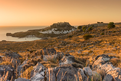 Lindos Sunrise