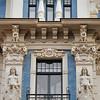 Rue Strēlnieku, Art nouveau