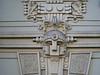 Art Nouveau facade detail, Strelnieku iela