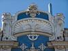Art Nouveau facade detail, Elizabetes iela