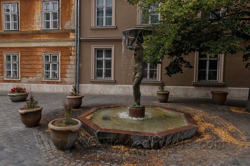 Fountain on Castle Hill