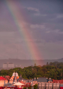 after sudden thunder and lightning storm - Cluj Napoca