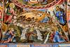 <center>Wall Paintings<br><br>Rila Monastery<br><br>Rila, Bulgaria    </center>