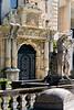 <center>Palace Entrance<br><br>Peles Castle<br><br>Sinaia, Romania    </center>