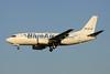 YR-BAG Boeing 737-5L9 c/n 24778 Brussels/EBBR/BRU 07-07-13