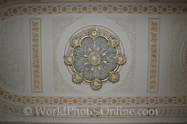 Bucharest - Palace of the Parliament - Chandelier 2