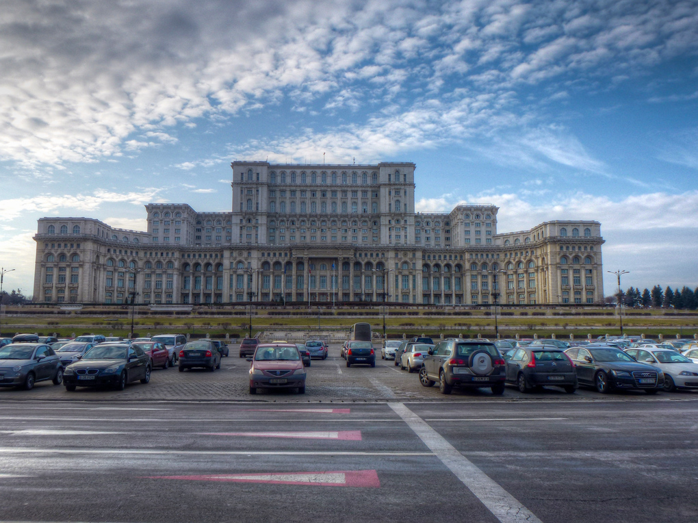 palace of the parliament buildings bucharest